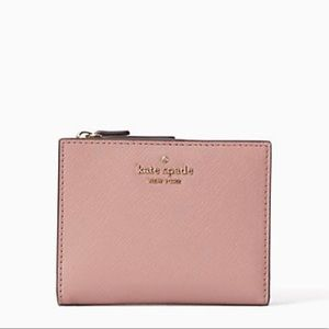 New with tag Kate spade small pink Wallet